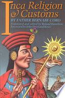 libro Inca Religion And Customs