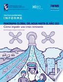 Panorama Global Del Agua Hasta El Año 2025