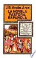 libro La Novela Pastoril Española