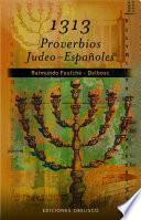 libro 1313 Proverbios Judeo Españoles