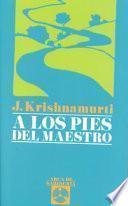 libro A Los Pies Del Maestro