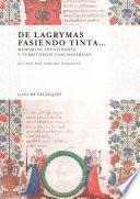 libro De Lagrymas Fasiendo Tinta…