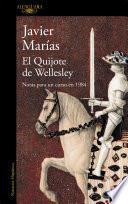 libro El Quijote De Wellesley