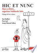 libro Hic Et Nunc