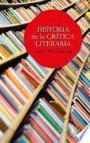libro Historia De La Crítica Literaria