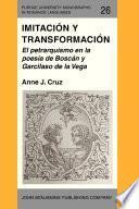 libro Imitación Y Transformación