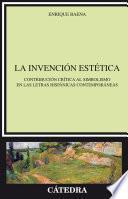libro La Invención Estética