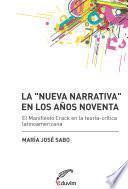 libro La  Nueva Narrativa  En Los Años Noventa