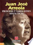 libro Prosodia Y Variaciones Sintácticas