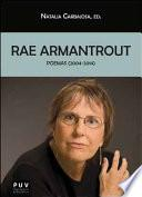 libro Rae Armantrout