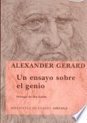 libro Un Ensayo Sobre El Genio