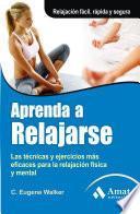 libro Aprenda A Relajarse. 3d