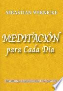 libro Meditación Para Cada Día