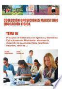 libro Colección Oposiciones Magisterio Educación Física. Tema 16