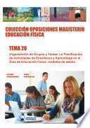 libro Colección Oposiciones Magisterio Educación Física. Tema 20