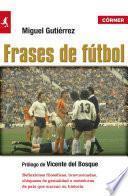 libro Frases De Fútbol