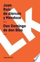 Don Domingo De Don Blas