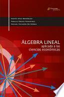 Álgebra Lineal Aplicada A Las Ciencias Sociales