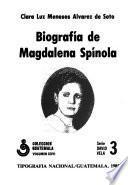 Biografía De Magdalena Spínola