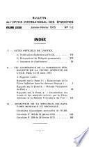 Bulletin   Office International Des Épizooties