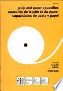 Capacidades De Pasta Y Papel 2000 2005
