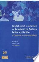Capital Social Y Reducción De La Pobreza En América Latina Y El Caribe