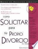 libro Como Solicitar Su Propio Divorcio