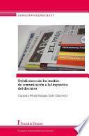 Del Discurso De Los Medios De Comunicación A La Lingüística Del Discurso