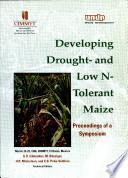 Developing Drought And Low N Tolerant Maize