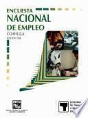 Encuesta Nacional De Empleo. Coahuila. 1996