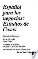 Español Para Los Negocios