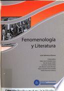 Fenomenología Y Literatura