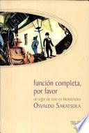 libro Función Completa, Por Favor