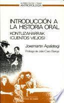 Introducción A La Historia Oral