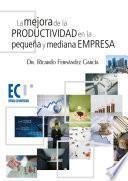La Mejora De La Productividad En La Pequeña Y Mediana Empresa