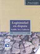 libro Legitimidad En Disputa