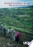 libro Manejo Conjunto De Los Recursos Naturales