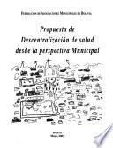 Propuesta De Descentralización De Salud Desde La Perspectiva Municipal