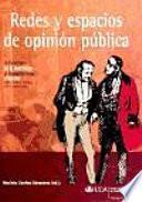 libro Redes Y Espacios De Opinión Pública