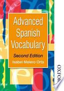 Advanced Spanish Vocabulary