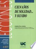 Cien Años De Soledad   Y Olvido