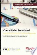 Contabilidad Previsional. Financiación De Empresas. Administración Y Gestión