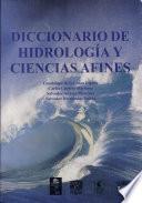 libro Diccionario De Hidrología Y Ciencias Afines