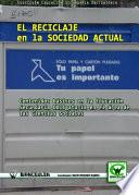 libro El Reciclaje En La Sociedad Actual
