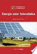 libro Energía Solar Fotovoltaica