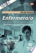 Enfermera/o. Osakidetza Servicio Vasco De Salud. Test Del Temario