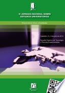 libro Iv Jornada Nacional Sobre Estudios Universitarios