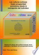 Las Culturas Exitosas Forjan Prosperidad Económica Desde La Concepción Del Individuo