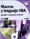 Macros Y Lenguaje Vba   Aprender A Programar Con Excel