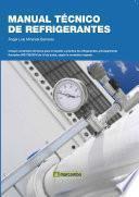 libro Manual Técnico De Refrigerantes